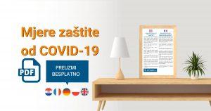 PRIPREMILI SMO VAM: Mjere zaštite od COVID-19 na više jezika
