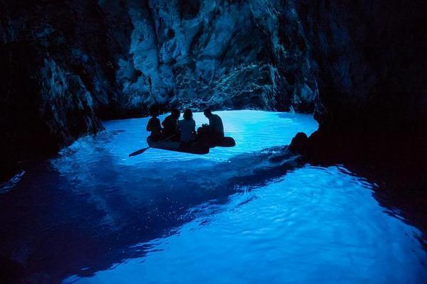 Modrej Jasniki na wyspie Biševo