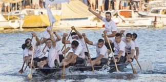 Boat marathon Neretva