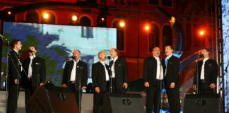 A cappella singing (Dalmatinske klape)