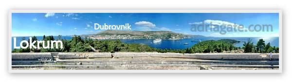 Lokrum Kroatien Adriagate.com