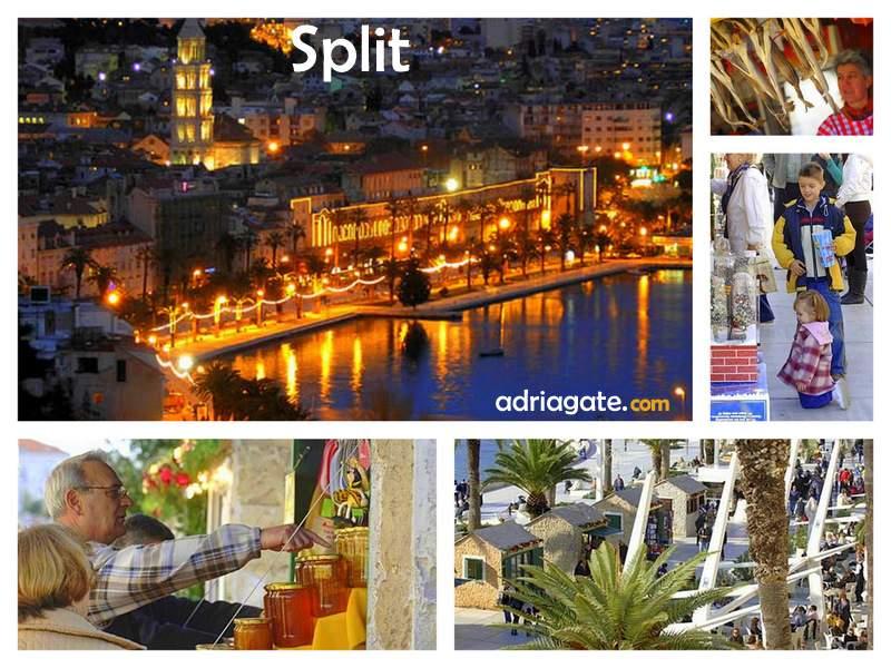 Weihnachten In Kroatien.Weihnachten Und Silvester In Split Travel Blog