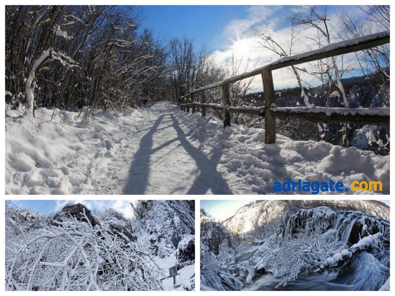 Plitvice Lakes In The Winter Travel Blog