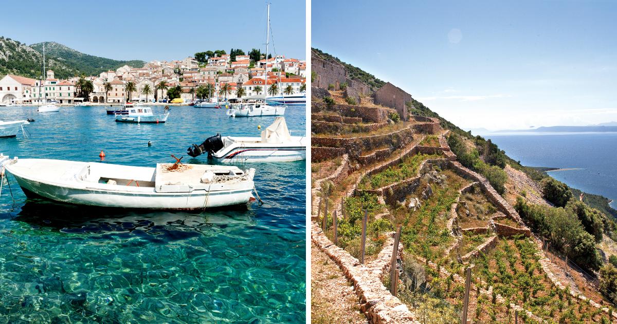 hvar brac Horvátország hiteles szállás