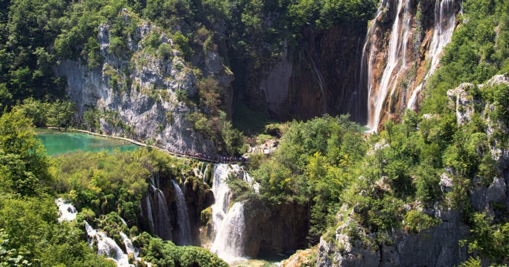 Cycling in WOW (Plitvice lakes)