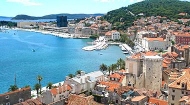 Split odmor u Hrvatskoj